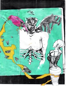 Collage Paintings