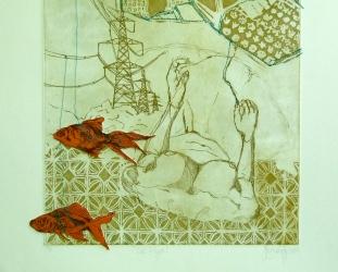"""""""Kite Flyer"""" Detail 1"""