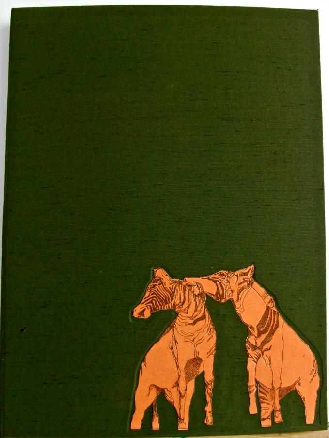 cover of Unrefined Anatomies handmade Artist Book