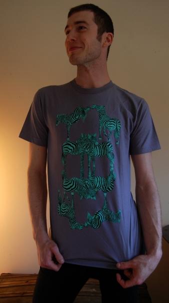 Patrick in Passiv Agressive Zebra T-shirt