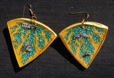 Insect Jungle earrings