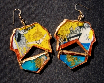 Stop Motion earrings
