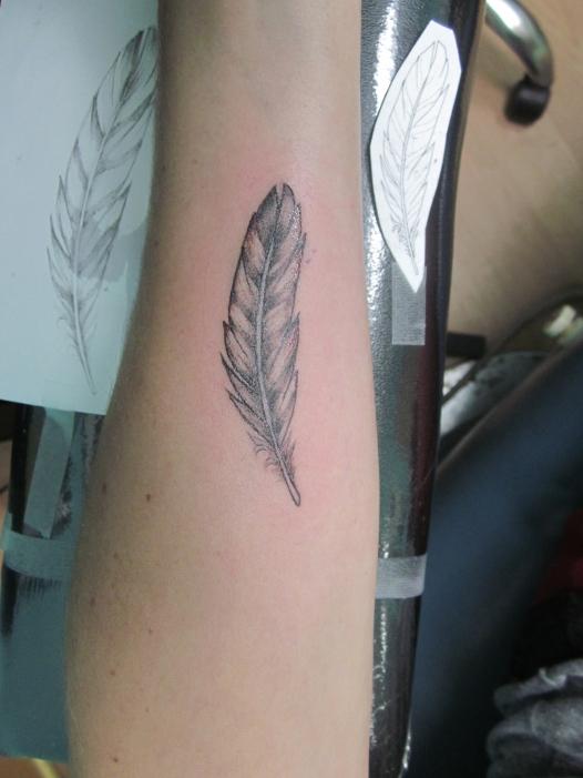custom feather