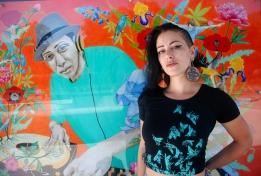 the artist Jozie Furchgott Sourdiffe